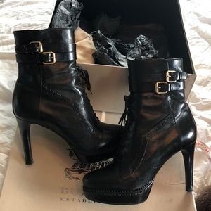 Burberry boots. Beautiful.